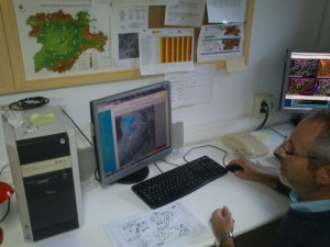 Juan Pablo Álvarez nos muestra el radar de AEMET