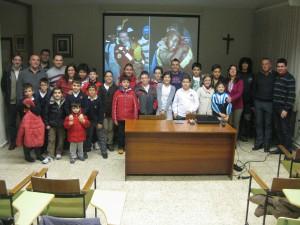 Una foto de grupo para recordar el momento